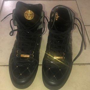 1713ae64dc02 Man shoe black with studs